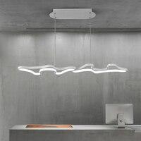 Creatieve Moderne Led Opknoping Hanger Verlichting Voor Winkel Bar Eetkamer Keuken Kamer AC85-265V Acryl Led Hanglamp Gratis Verzending