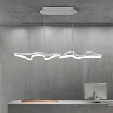 LED โมเดิร์นแขวนจี้ไฟสำหรับ Shop บาร์ห้องอาหารห้องครัว AC85 265V อะคริลิค LED โคมไฟจัดส่งฟรี