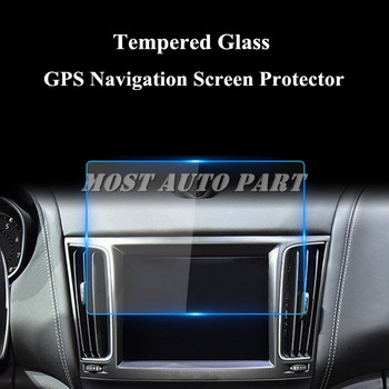 Tempered Glass GPS Navigation Screen Protector For Maserati Levante 2016-2020 image