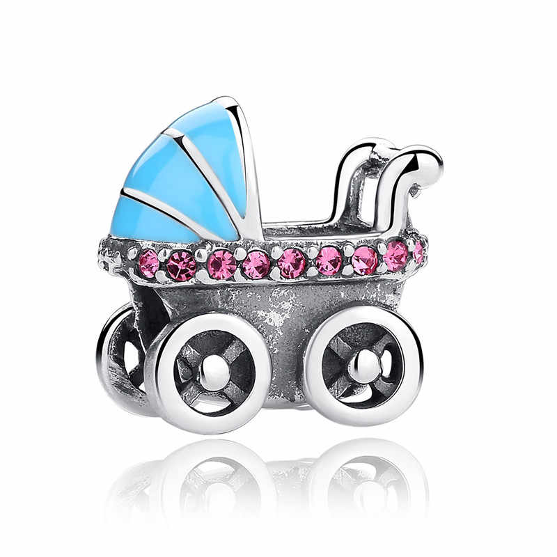 S925 Sterling Zilver Kinderwagen Kleurrijke Dragon Fit Originele 3Mm Armband & Bangle Maken Fashion Diy Sieraden Voor Vrouwen