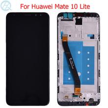 Oryginalny Nova 2i LCD do Huawei Mate 10 Lite wyświetlacz z ramką 5 9 #8222 Huawei G10 Plus LCD RNE-L21 z ekranem dotykowym tanie tanio Pojemnościowy ekran 1920x1080 3 For Huawei Mate 10 Lite LCD LCD i ekran dotykowy Digitizer For Huawei Mate 10 Lite Display
