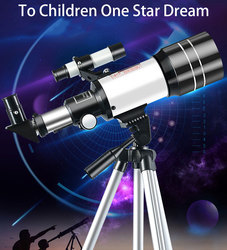 Professional Astronomical Telescope 150 Times Zoom HD High-Power Portable Tripod Night Vision Deep Space Star View Moon Universe