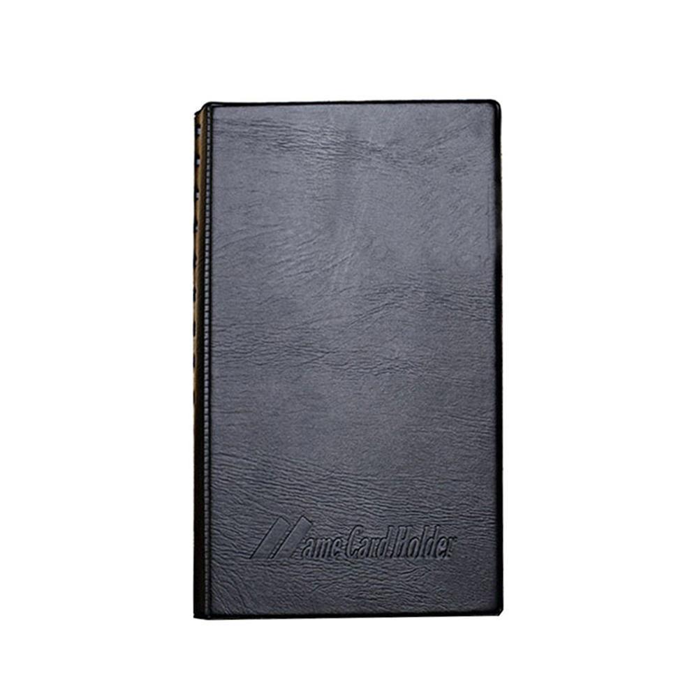 Business Card Holder Black 240 Sheets Bank Women&Men Business Credit Id Name Leather Bags Card Card Card Holder Case