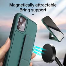 Luxury Silicone Car Magnetic Holder Phone Case For