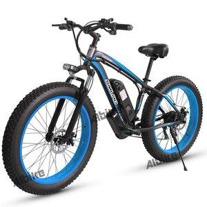 Electric bike 48V 1000W 17.5Ah battery Electric Mens Mountain bike 4.0 fat tire Snow Electric Bicycle beach E-bike ebike