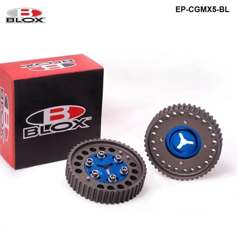 BLOX 캠 기어 풀리 마즈다 MX-5 MX5 BP6 BP8 NB6 NB8 MX5 캠축 기어 EP-CGMX5-BL