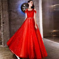 Wedding Celebrity Backless Red Dress Spaghetti Strap Women Short Sashes Fashin Patchwork Bohemian Party Dresses Wholesale