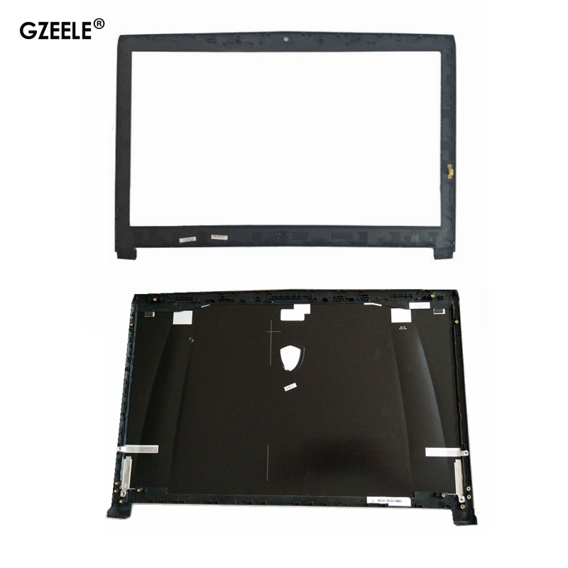 New For MSI GE72 GE72VR MS-1791 MS-1792 Lcd Rear Lid Top Back Cover Case 307791A216Y311 307791A212Y311 307791A247Y311 LCD Bezel