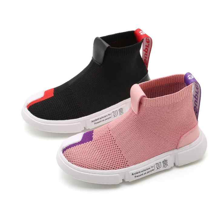 Kids Shoes Children Sneakers For Boys Girls Running Sock Shoes Sports Tenis Infantil Breathable Chaussure Enfant Child Trainers