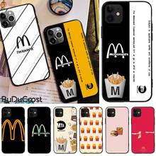 Fashion McDonald's MetroCard Bling Cute Phone Case For iphone 5C 5 6 6s plus 7 8 SE 7 8 plus X XR XS MAX 11 Pro Max Cover new iphone case for iphone 11 for iphone11 pro max 5 8 inches 6 1 inches 6 8 inches 6 6s 7 8 plus ix xr max x fashion back cover