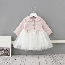 Prinzessin Mädchen Kleid Peter Pan Kragen Kinder Kleider Party Kinder Geburtstag Kleidung Tutu Kleid Ballkleid für 1 5 vestidos
