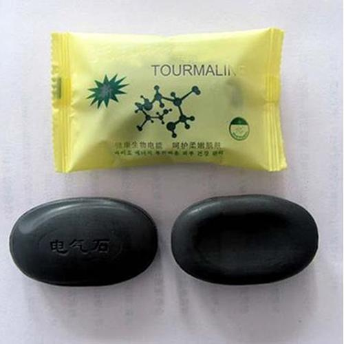 Face Body Beauty Healthy Personal Care Whitening Rejuvenation Tourmaline Soap Bath & Shower Supplies  Whitening  Lightening