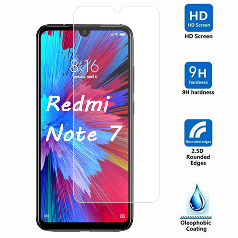 Protective Glass Forr Xiaomi Redmi Note 8T 8 7 6 Pro 5A Prime Tempered Glass Screen Protector Redmi Note 7 5 Pro 4 3 Glass 9H