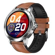 Multi-dial relógio inteligente k15 termômetro de fitness rastreador monitor de freqüência cardíaca relógio masculino feminino smartwatch para telefone