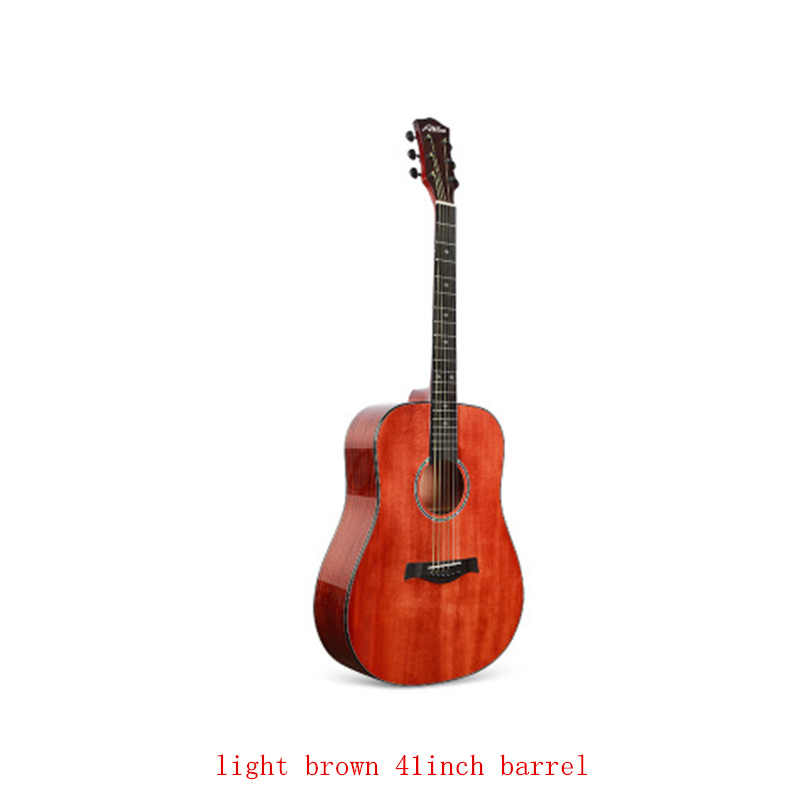 36 40 41 Inci Cutaway Gitar 6 String Glossy Finishing Solid Spruce Sapele Gitar Akustik Warna Coklat Gitar AGT131