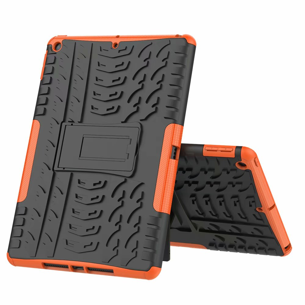 orange Gold New Case Cover For Apple iPad 10 2 7th Gen 2019 Case Rugged Shockproof Heavy Duty