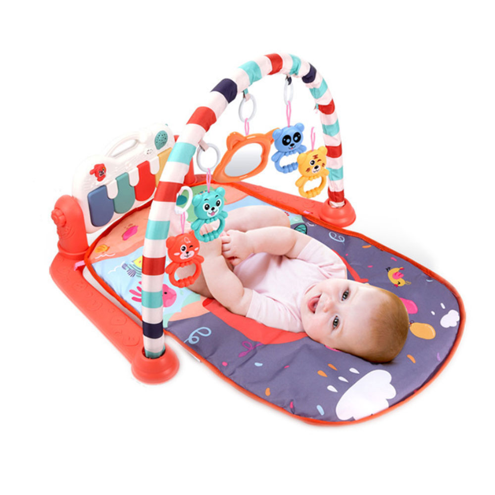 Musical Baby Play Mat Kids Rug Educational Puzzle Toys Carpet With Piano Keyboard Baby Gym Crawling Activity Mat Comfortable Toy
