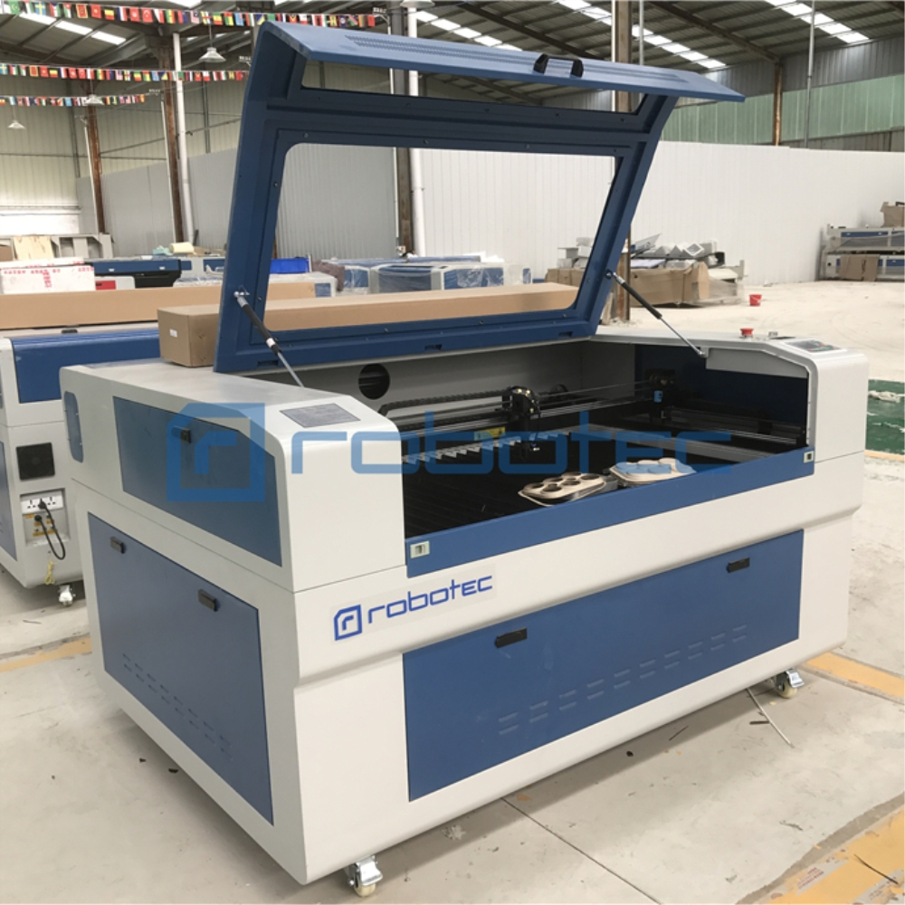 ROBOTEC Cheap 1300*900mm Cnc Co2 Laser Cutter 150W Co2 Laser Cutting Machine Metals For Sale