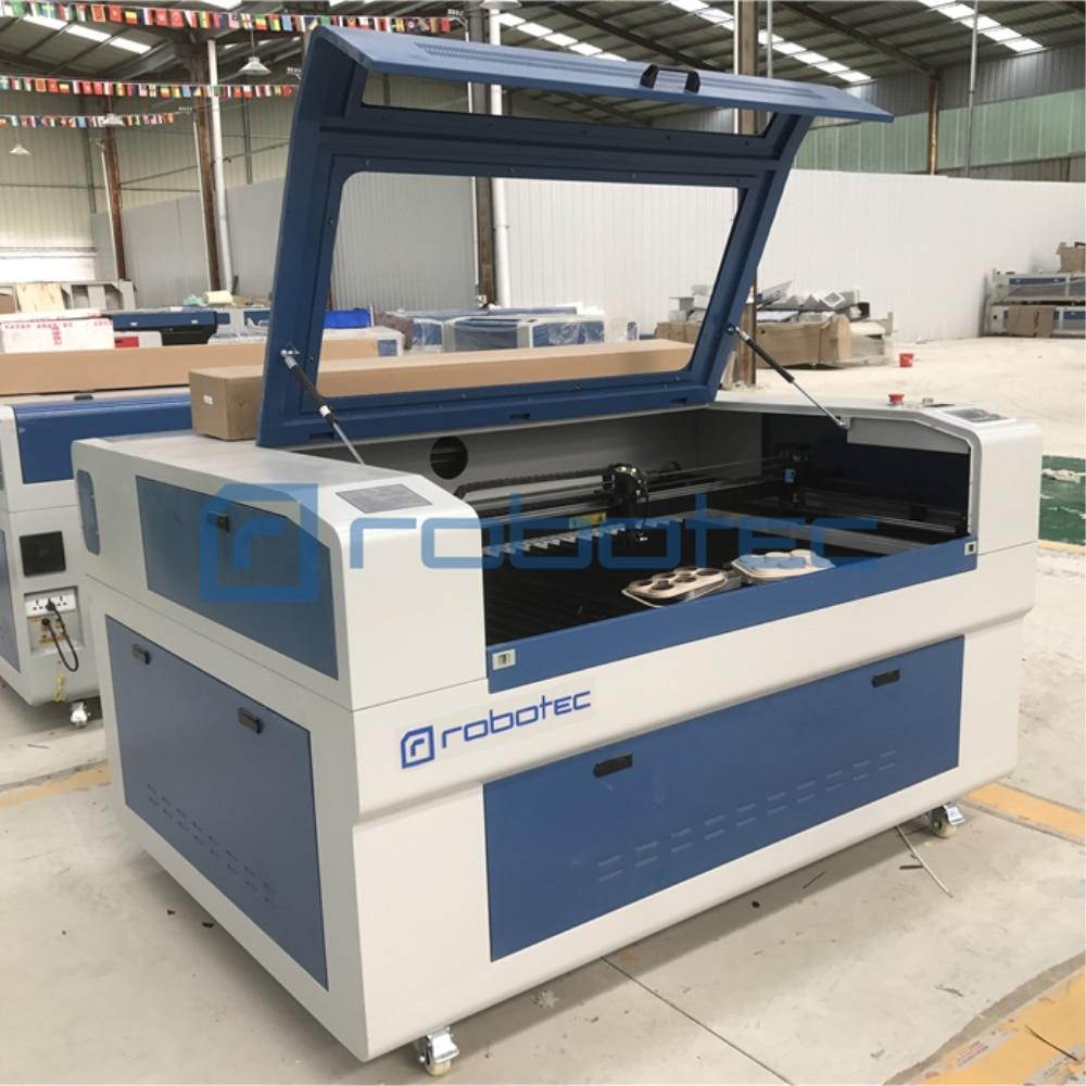 ROBOTEC Cheap 1300*900mm Cnc Co2 Laser Cutter 150W Co2 Laser Cutting Machine Metals For Sale