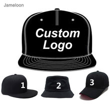 Custom Baseball Hat Customize Design Logo 3D Embroidery Text Fitted Hiphop Tennis Golf Snap Back Trucker Hat Custom Snapback Cap