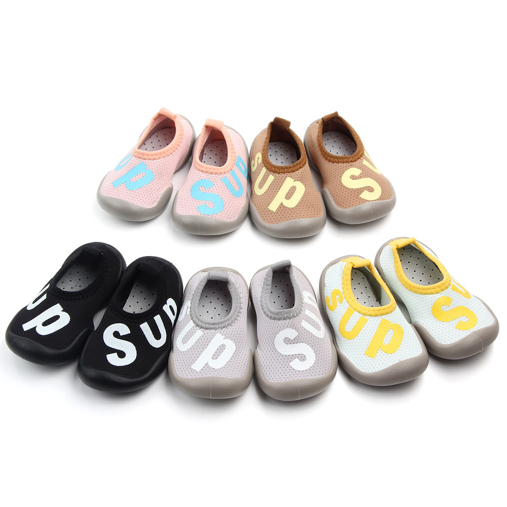 Shallow Mouth Baby Boy Shoes Socks Non-slip Toddler Socks Shoes Baby Girl Soft Rubber Sole Socks Shoes