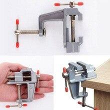 Mini herramienta multifunción de aluminio miniatura de pequeño pasatiempo de joyeros abrazadera en tornillo de banco de mesa