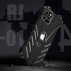Image 5 - For Apple IPhone 11 PRO X XS MAX XR 5 Se 6 6s 7 8 Plus 12 pro Case Aluminum Metal Batman Armor Protective Shockproof Phone Cover