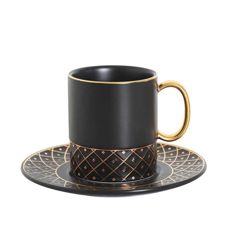 Glas Tasse Becher und Untertasse Set Nordic Keramik Tasse Rühren Becher Coffe Becher Neuheiten Kreative Tassen Alle für Küche Geschirr teekanne