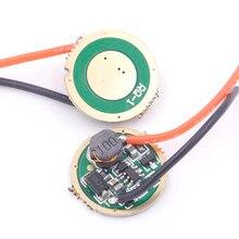 Circuit de commande de lampe de poche led, 17mm, 900ma, 1 mode, entrée 3V-12V, pour T6, U2, U3, cree, Q5, 3w, 5w