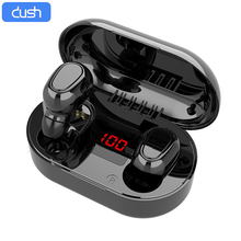 DUSH Wireless Earpods TWS Headphones Bluetooth 5.0 Earphone Mini Headset Waterpr