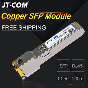 Gigabit RJ45 SFP Module 1000Mbps SFP Copper RJ45 SFP Transceiver Module Compatible with Cisco/Mikrotik Gigabit Ethernet Switch(China)