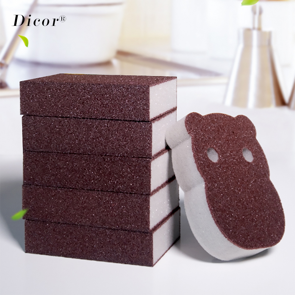 Creative Nano Sponge Magic Eraser for Removing Rust Cleaning Cotton Kitchen Gadgets Accessories Descaling Clean Rub Pot Kitchen(China)