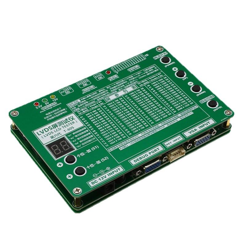 Ноутбук ЖК/светодиодный набор Тестовых Инструментов панель экран тест er+ 14 шт. кабели для экранов+ 2 инверторных бара+ 1 адаптер питания