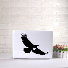Laptop sticker Eagle Laptop Vinyl Decal Sticker For Macbook Decal 11 12 15 Inch Vinyl Decal Laptop skin decoration(China)