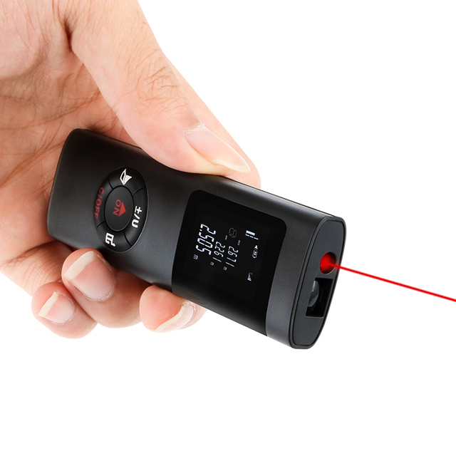 Новый лазерный дальномер 40 м trena Лазерная Лента сборка измерительное