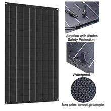 Недавно 100w 200w Гибкая солнечная батарея по оптовочной ценеоп 18V 12V зарядное устройство на солнечных батареях, монокристаллическая панель солнечной батареи, солнечная система для дома комплект