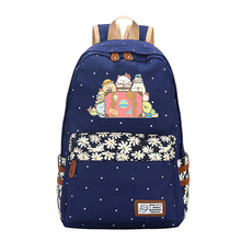 Sumikko Gurashi Flower Point Backpack Laptop Bookbag School Bag Travel Daypack Bags for Teenagers Girls Kids