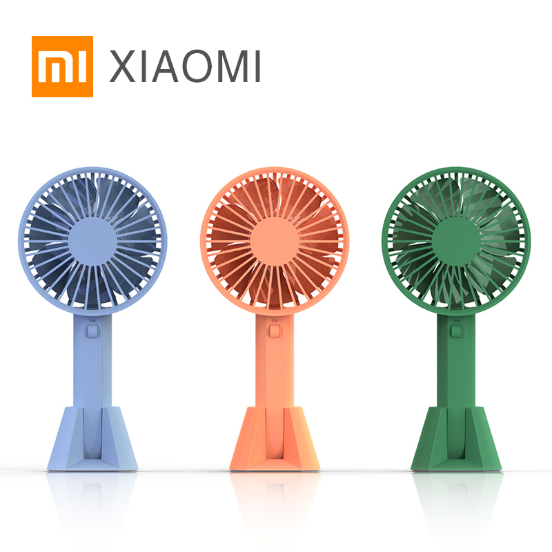 Xiaomi MIJIA VH Portable Handhold mini Fan for home xiaomi eco chain product rechargeable portable air conditioner table usb(China)