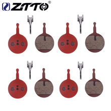 ZTTO 4 pairs MTB Mountain Bike Bicycle Semi-Metallic Brake Pads for MERIDA GIANT AVID BB5 PROMAX Caliper все цены