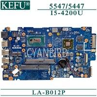 KEFU LA-B012P original mainboard für Dell Inspiron 15-5547 14-5447 mit I5-4200U AMD-video Laptop motherboard
