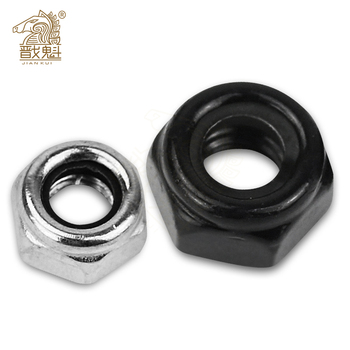 50X M2 M2.5 M3 M4 M5 M6 304 Stainless Steel Carbon Steel Black Zinc-plated Hex Nylon Insert Lock Nut Self-locking Nylock Locknut 50pcs din985 m2 m2 5 m3 m4 m5 m6 m8 304 stainless steel nylon self locking hex nuts locknut slip lock nut