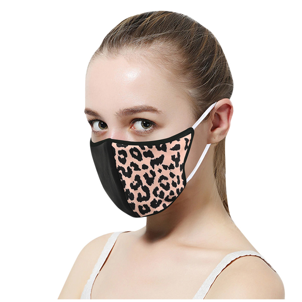 Hd6298c9d25ef4455b3b304f5feaa95c9i In Stock Men Women Adult Outdoor Print Washable Print Breathable Face Cotton Mouth Reusable Earloop Mouth-muffle Health Care