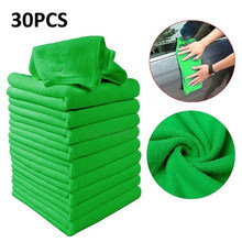 Microfiber Cleaning Auto Car Detailing Soft Cloth Washing Towel Duster Cleaner(China)