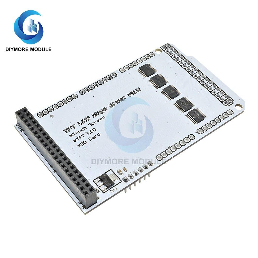 Module dextension de bouclier LCD TFT pour Arduino TFT01 méga tactile LCD prise en charge TFT 3.2 4.3 5.0 7.0 3.2 4.3 5.0 7.0