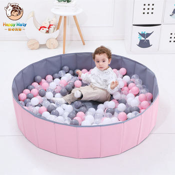 Happymaty Ocean Balls Kids Outdoor Game Play Ball Pool Foldable Children's Toys Tent For Large Tent for Kids Children Ball Pit 3 in 1 kids large pool tube teepee play tent ocean ball pool pit tent house for children foldable game playing house room gift