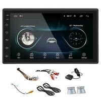 NEW Black 2DIN Android Car Multimedia MP5 Player Radio GPS Navi WIFI Radio 2 Din 7 Inch Press Screen Bluetooth FM Audio Car Ster