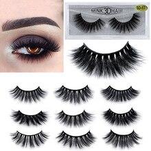 лучшая цена 20 Types 3D Mink Lashes Soft Natural Long False Eyelashes Thick Fake Lashes Extension Makeup Handmade Imitation Mink Eyelashes