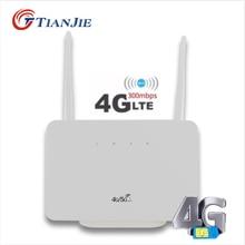 Breitband Modem Sim Karte 4G/LTE Router Wifi CPE Entriegelt/Wireless/Tragbare Mobile Hotspot Mit LAN/WAN RJ45 Port Gateway 300Mbps