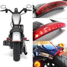 цена на Motorcycle LED Taillight Mudguard Brake Light for Harley-Davidson Sportster 883 X Motorcycle Accessories