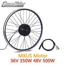 36V350W 48V 500W XF15F XF15R ebike ערכת אופניים חשמליים המרת ערכת מנוע גלגל לMXUS מותג